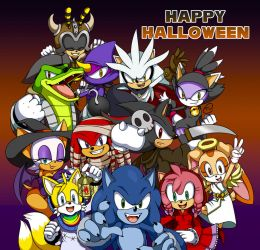 Sonic Halloween by Tee-J