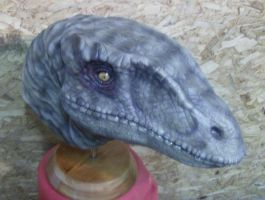 Velociraptor Head finished 1 by XtcofPain