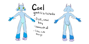 [reference] Cael the Goat by Caelterra