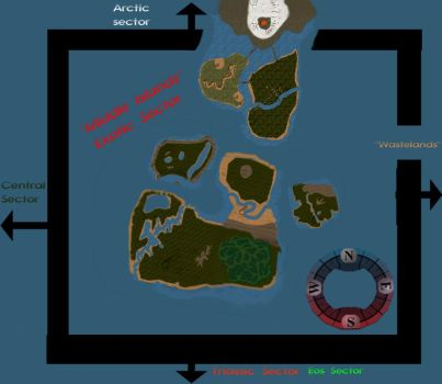 Middle Islands Updated  Map by Keegz97