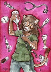 aceo for diaminerre by kailavmp