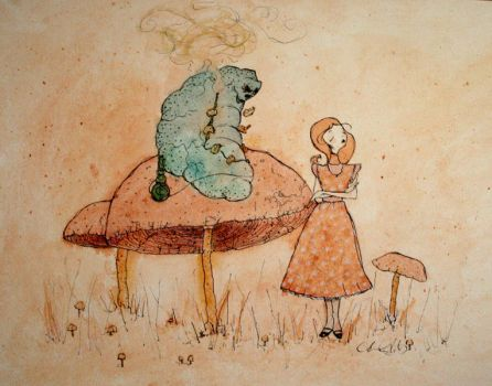 alice and the caterpillar by passinglife
