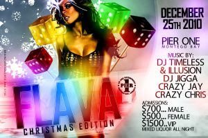FLAVA - Flyer by Brainz-Designz