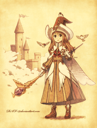Sparrow Wizard by DAV-19