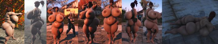 Fallout 4 ssbbw2 project by coldsteelj