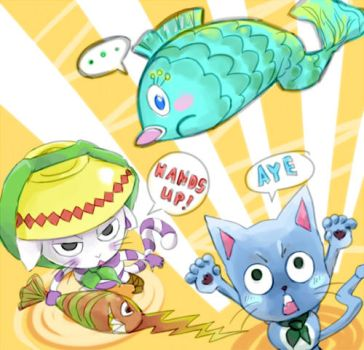 They both love fish by M-U-S-I-K