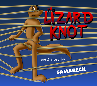 The Lizard Knot Title Card by Samareck