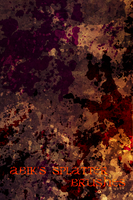 Abik's Splatter Set GIMP by AbikK