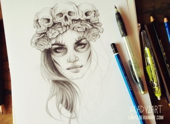 death_queen_wip. by Lady2