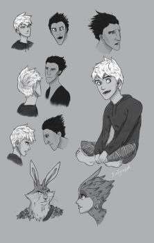 RotG Sketchdump by dewdrop34