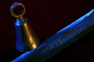 Athame and bell by KarlDawson