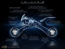 Porsche Motorcycle Concept - View 4 by SaGaDesign