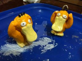 Psyduck painted final pieces 2 by andreruz