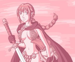 -The Undefeated Woman- Rebecca by Erk-kun
