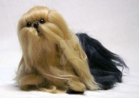 Needle Felted Yorkie Dog by The-GoblinQueen