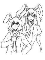 Tei and Reisen by Reef1600