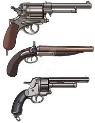 Western Weapons 6 by ProdigyDuck
