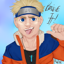 I drew a Naruto by Ohmahlawd