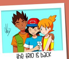 The trio is back by Marsy3