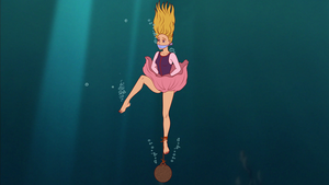 Eilonwy Underwater Peril by VictorZulu