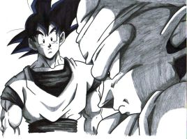goku and piccolo by trunks24