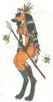 Maned Wolf by CelticWolfCreations