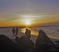 Fishermen at Coney Island by armaan