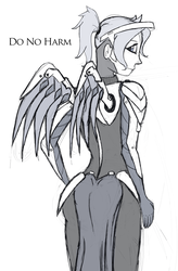 Mercy Sketch by ShadyHorseman