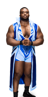 WWE Big E 2014 Render New Day by Dinesh-Musiclover