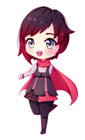 Chibi little Ruby [+speedpaint!] by senapon