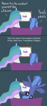 A Fan of the Show by tootootaloo