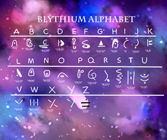Blythium Alphabet by Redpandaseas