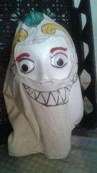 Crude peasant creature mask. by xsparky123