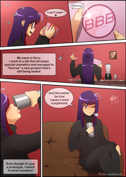 [COMIC] Booty Booster - Page 01 by Joraglove