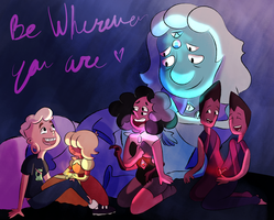 Off color gems- Be wherever you are by JarosLeal
