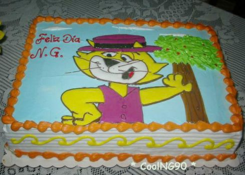 Top Cat cake   XD by CoolNG90
