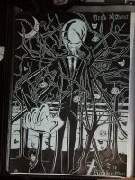The Slender Man -WIP 10- by wereby