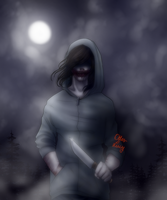 [CREEPYPASTA FANART] - Labyrinth by OtterLucy