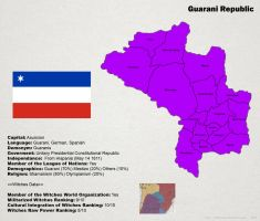 SW: Map of Guarani by ThanyTony