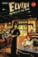 Elvira: Mistress of the Dark #3 cover  by RobertHack
