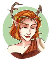 Keyleth of the Air Ashari - Critical Role by riku-gurl