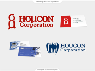 Houcon Corporation Branding by BoffinbraiN