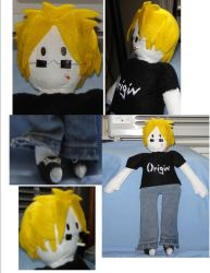 Ross Rapier Plushie by Jemi-Linked