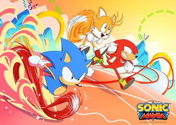 Sonic Mania by MatMadness