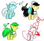 Pony Adopts 2 by IchiAdoptees