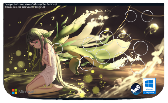 Saya no Uta (2) Arcade Art (Windows) by ChechelEXGBR