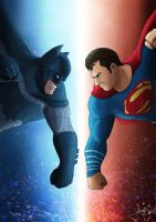 Batman v Superman by jpbijos