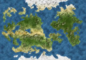 Fantasy Mundi Map by Demetrio
