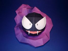 Gastly Papercraft