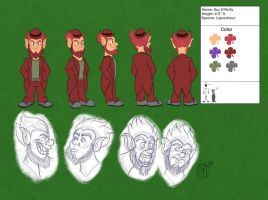 Reference Sheet: Guy O'Reilly by A-Fox-Of-Fiction